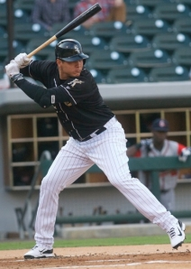 Avisail Garcia appeared in 13 games for the Knights this season. (photo credit: Amy Gray).