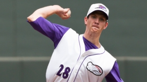 Matt Heidenreich went 8-2 with a 3.57 ERA for Winston-Salem in 2012. (Photo credit: Steve Orcutt).