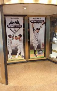 These were the doors into SoxFest.