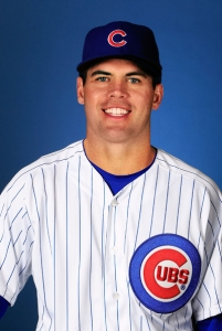 MESA, AZ - FEBRUARY 18:  Pitcher Brooks Raley #43 poses during Chicago Cubs photo day on February 18, 2013 at HoHoKam Park in Mesa, Arizona.  (Photo by Jamie Squire/Getty Images)