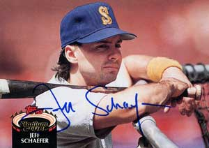 Seattle Mariners days (with that famous mullet)